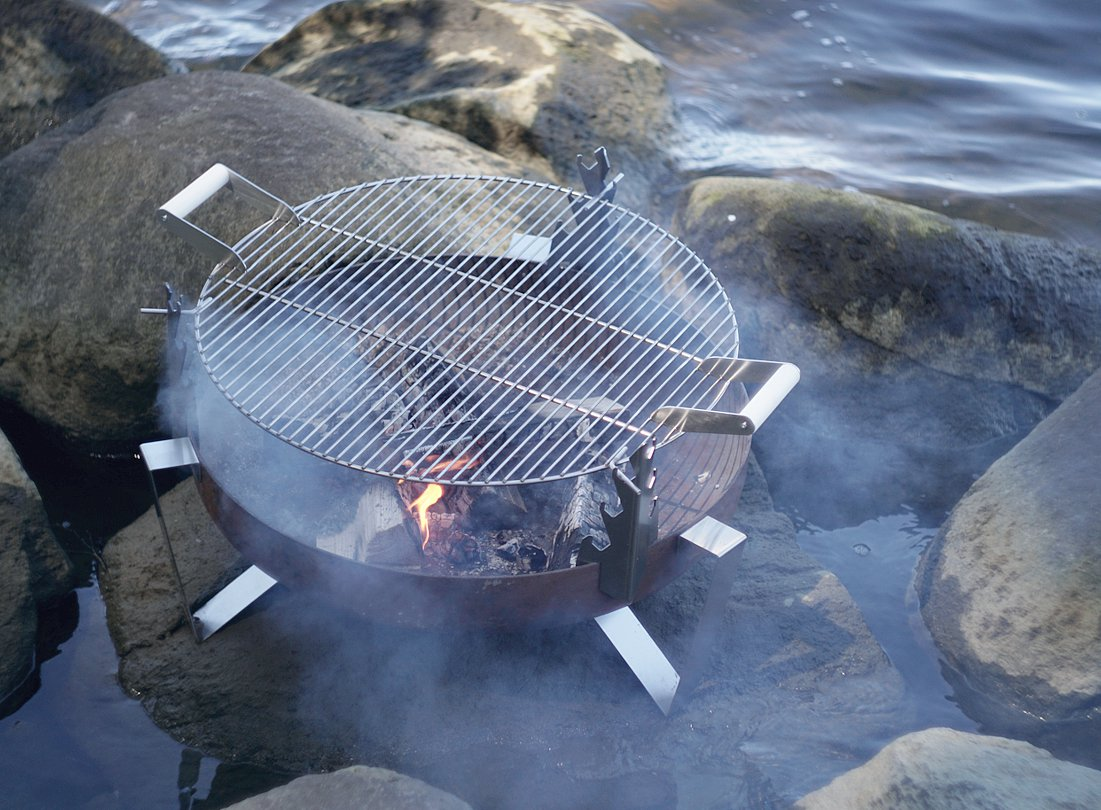 curonian deco high quality outdoor fire pit bbq grill grate