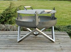 Stainless steel BBQ grill grate