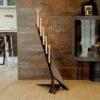 Contemporary Design Floor-Standing Candle Holder SMILTE