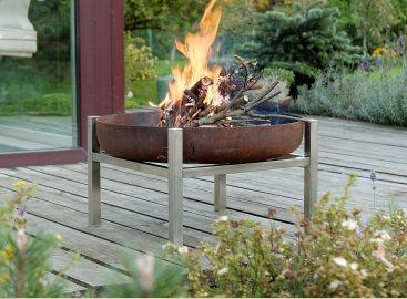 Contemporary Fire pit Parnidis Tall