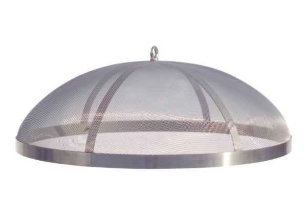 Fire Pit Spark Screen Stainless Steel