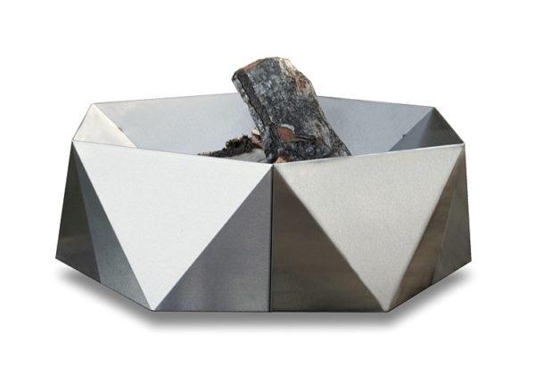 Junda wood-burning stainless steel fire pit