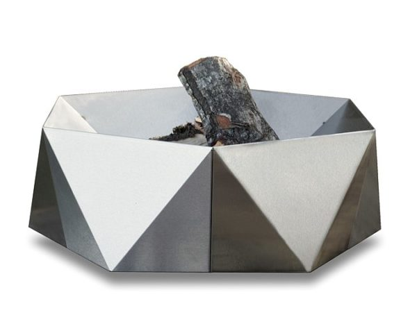 Junda wood-burning stainless steel fire pit